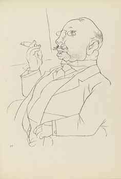 George Grosz. Plate 29 from Ecce Homo. 1922-1923 (reproduced drawings and watercolors executed 1915-22)