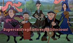 #Supercalifragilisticexpialidocious. TOOK ME A WHILE TO WRITE BUT THE SOUND OF IT MAKES SOMETHING QUITE ATROCIOUS! Pin if you love that saying.