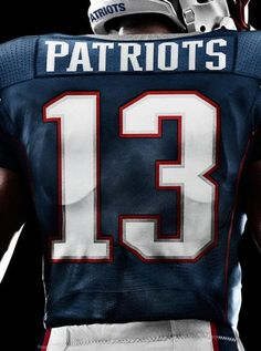 New England Patriots Nike Jersey Unveiled