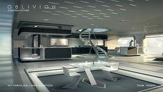 Résultats de recherche d'images pour « concept art futuristic apartment »