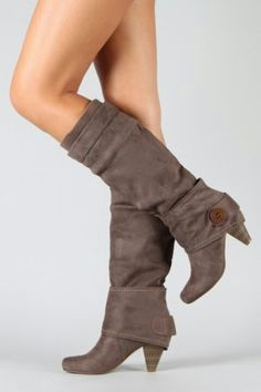 Boots-This heel will be just fine while I'm pregnant :)