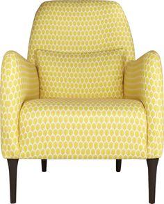 Daborn fauteuil en tissu