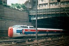 Turbo train...Penn Station 1976