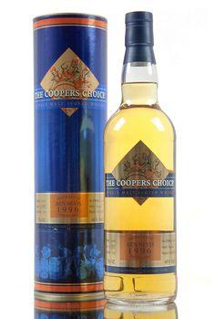 A 1996 vintage Ben Nevis single malt Scotch whisky, bottled by independent whisky bottlers, The Vintage Malt Whisky Company Co. Bottled under their Coopers Choice range, this 17 year old Highland malt was aged in cask number #1317. Bottled in 2014, 320 bottles filled at 46% vol.