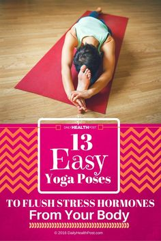 Stress can quickly creep into your life and can often be hard to shake.� Practicing various yoga poses have shown to have a calming effect on the body and many poses have a stress relieving effect.
