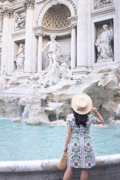 Trevi Fountain, Rome  Baroque Art Gelato Crawl
