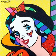 britto | few of the Britto Snow White paintings...