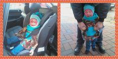 Betty`s Kinnerkram: Poncho für den Reboarder (Autositz)