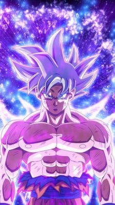 Ultra instinct, goku, dragon ball, blue power, 720x1280 wallpaper