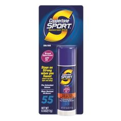 I'm learning all about Coppertone Sport Sunscreen Stick at @Influenster!