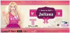Criação de flyer - Secret Story - Juliana.