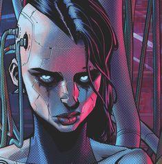 Cyborg girl by Danny Kim : Cyberpunk Cyberpunk 2077, Cyberpunk Girl, Arte Cyberpunk, Cyberpunk Character, Cyberpunk Fashion, Cyborg Girl, Cyberpunk Aesthetic, Poses References, Art Et Illustration
