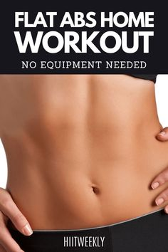You are going to love this full-on ab workout that can be done at home with absolutely no equipment needed. It's tough but not so tough that you can't get through it, and you will feel and love… Workout For Flat Stomach, Best Ab Workout, Ab Workout At Home, Abs Workout For Women, At Home Workouts, Stomach Workouts, Men Exercise, Workout Men, Workout Tips