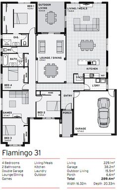 Duplex floor plans with garage duplex first floor for Duplex plans for seniors