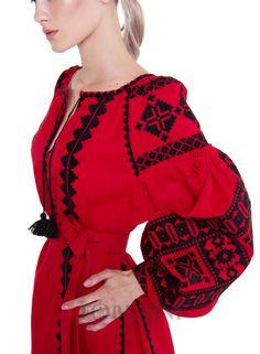 """Платье вышиванка """"Берегиня"""" - FOBERINI - с аутентичным украинским орнаментом, характерным для традиционного…"""