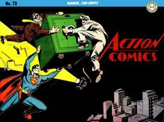 Action Comics 70 by Superman8193