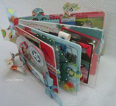 chipboard and acetate mini scrapbook :)