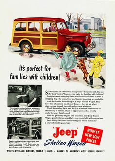 """""""It's Perfect for Families with Children!"""": Jeep Station Wagon"""