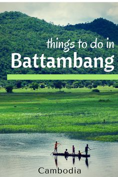 There is so many things to do in Battambang. Old Angkorian temples, the tragic killing caves, the bamboo train and the incredible Cambodian landscapes makes this area a very interesting place to visit. Put Battambang on your list of places to. visit in Ca