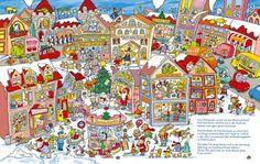 Weihnachten-Wimmelbild