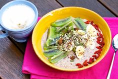Overnight Oats from Bags and Bunnies #healthyeats #funeats #overnightoats