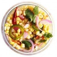 Chicken and Corn Soup with Chile-Mint Salsa - Bon Appétit
