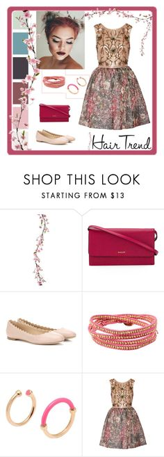 """""""Pink Hair"""" by callmekushi ❤ liked on Polyvore featuring beauty, Bally, Chloé, Chan Luu, Marc by Marc Jacobs, Notte by Marchesa, hairtrend and rainbowhair"""