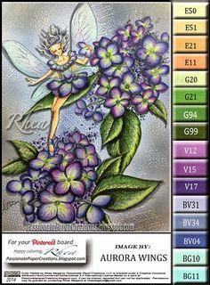 Passionate Paper Creations: Hydrangea Fairy