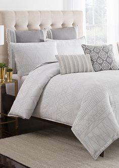 cupcakes and cashmere™ Moroccan Geo Duvet Cover