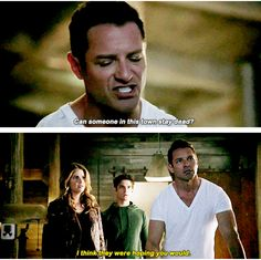 Peter Hale and Malia Tate (Hale)