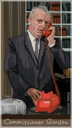 (Spen Art) Commissioner Gordon