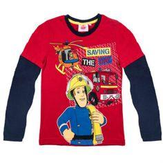 Fireman Sam Long Sleeve T Shirt