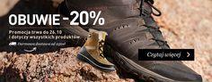 Promocja na turystyczne obuwie zimowe, jesienne i letnie - 20 % tylko do 26-10-2014 w sklepie Landersen.pl