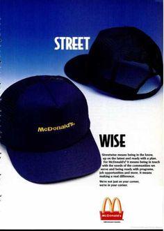McDonald's Ad, 1993.