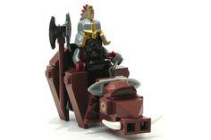 Dain on boar Lego Minecraft, Lego 4, Lego Custom Minifigures, Lego Minifigs, Lego Disney, Micro Lego, Lego Animals, Lego Army, Lego People