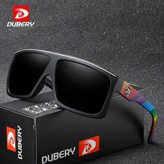 DUBERY Brand Design Polarized Sunglasses Men Driving Shades Male Retro