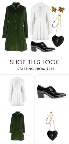 """""""Untitled #389"""" by katieghaas ❤ liked on Polyvore featuring For Love & Lemons, Christian Louboutin, Maison Olivia and Yves Saint Laurent"""