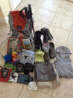 Packing for El Camino de Santiago - From the Way