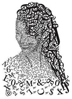Retrato tipografico