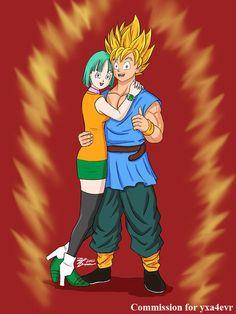 Bulma y goku fanfic buscar con google amor pinterest - Goku e bulma a letto ...