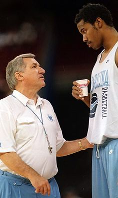 Dean and Sheed Basketball History, Basketball Legends, Basketball Teams, College Basketball, Unc Sports, Sports Memes, Dean Smith, Carolina Football, College Hoops