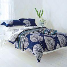 Harlequin Leaf Bed Linen