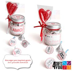 diy valentine's day party favors