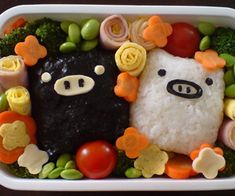 cute-food-monokuro-boo-bento-box