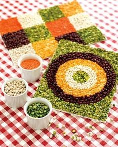 BEANS & SEED ART / Preschool items - Juxtapost