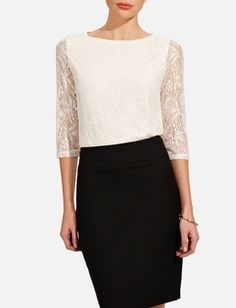 NEED THIS! Lace Top
