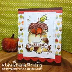 Christy Gets Crafty: 2 Nuts About You Cards