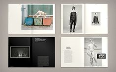 A Magazine About: Fashion and Identity by Hagen Verleger | Inspiration Grid | Design Inspiration