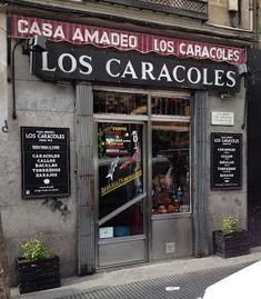 Mis tabernas favoritas: Casa Amadeo - Los Caracoles - Plaza de Cascorro, 18 - Madrid