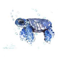 Tortoise Small Giclee Print